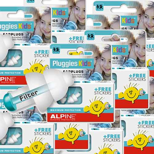 Offre speciale! 10 x  Alpine Pluggies Kids