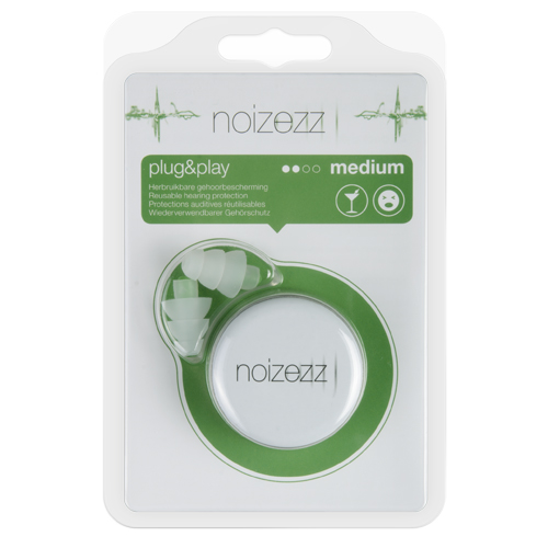 NOIZEZZ Plug & Play Vert Medium 18 dB