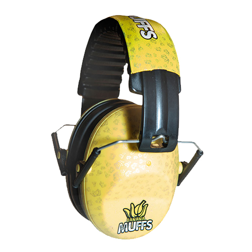 Casque antibruit Thunderplugs Enfant Banana