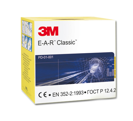 EAR CLASSIC 250 paires SNR 28dB